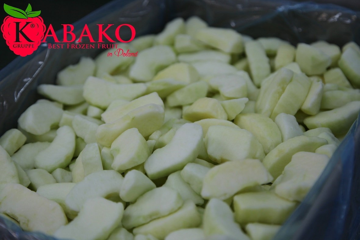 Frozen (IQF) Apples 18